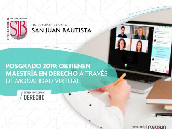 posgrado 2019 derecho maestría modalidad virtual